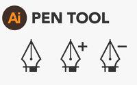 الرسم باحتراف من خلال قوة ومزايا أداة Pen Tool