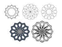 كيفية انشاء الزخارف الإسلامية باستخدام الاليستريتور