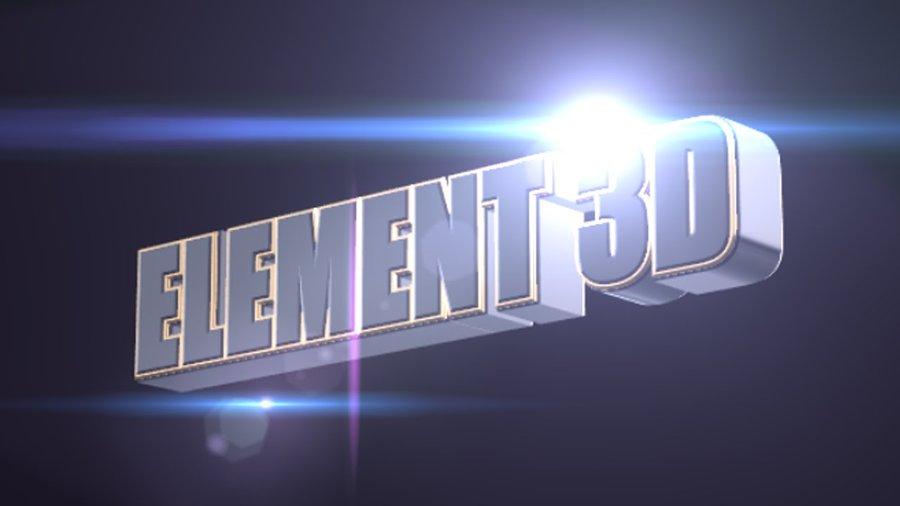 دورة شاملة للملحقElement 3D في الأفتر إفكت
