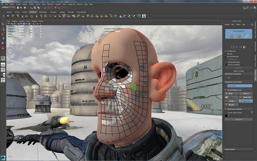 2017 Autodesk Maya